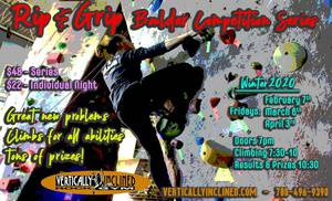 2020 Rip & Grip Boulder Competition Winter Series