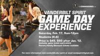 Vandy Spirit Game Day Experience