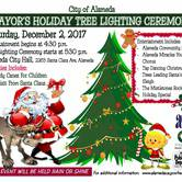 Mayor's Holiday Tree Lighting Cermony