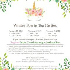 Beloved Faerie Tea Parties