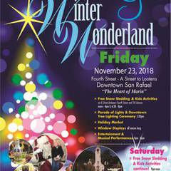 The San Rafael Annual Parade of Lights and Winter Wonderland