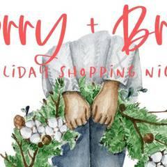 Merry + Bright Holiday Shopping Night