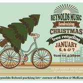 Reynolds Music Christmas Tree Recycling