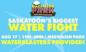 Saskatoon's Biggest Water Fight