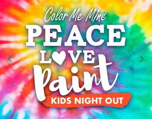 KIDS NIGHT OUT COLOR ME MINE MERIVALE