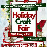 3rd Annual Holiday Craft Fair
