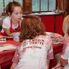 Paint-a-Palooza Summer Camp 2018 - Leighton Art Centre