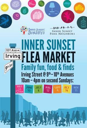 Inner Sunset Sunday's Flea Market