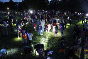 Flashlight Egg Hunt and Movie in the Park