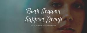 Birth Trauma Support Group Meeting