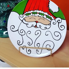 Paint with Santa Event