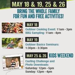 Go Outdoors - Kids' Weekend at Cabela's Edmonton South