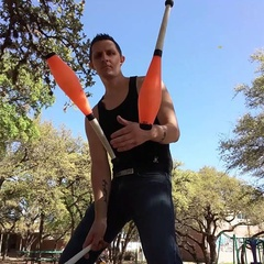 Matt Tardy Stunt Juggling Show and Workshop (ages 12-18)