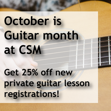 Chinook School of Music's promotion image