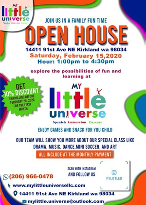 Family Fun Time Daycare Open House