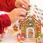 Gingerbread House Decorating for Kids