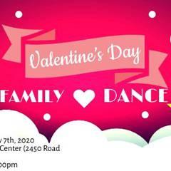 Valentine's Day Family Dance!