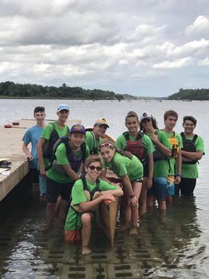 Eight-week Summer Camp: BEGINNER & INTERMEDIATE COMPETITIVE CANOE-KAYAK