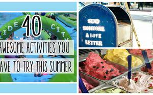 Be Adventurous This Summer - Bucket List Ideas to do with Your Kids