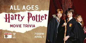 ALL AGES Harry Potter Trivia
