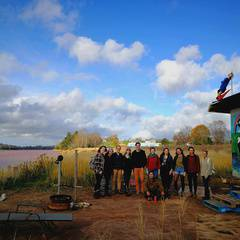 Solidarity with Stop Alton Gas Treaty Truck House Camp