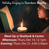 Holiday Singing in Downtown Berkeley
