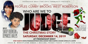 Who Are We To Judge - The Christmas Story