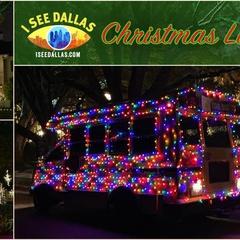 Christmas Light Tour on The Christmas Light Bus