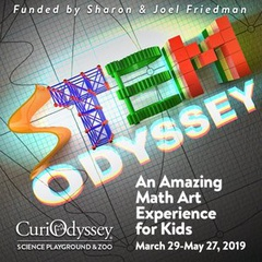 CuriOdyssey's STEM Odyssey Math Art Experience for Kids