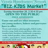 VHLN Biz Kids Market!