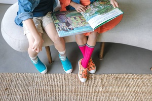 Family Story Time at Native Shoes