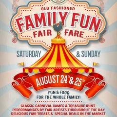 Old Fashioned Family Fun Fair - Fare