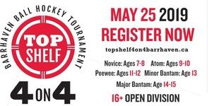 2019 Top Shelf 4-on-4 Barrhaven Ball Hockey Tournament