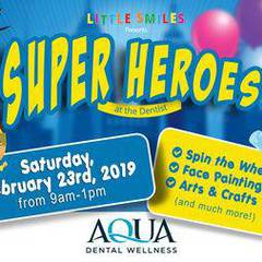 Little Smiles Super Hero Day!