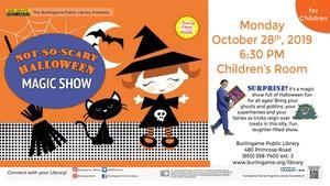 Not So Scary Halloween Magic Show