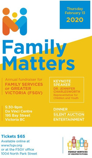 Family Matters - Annual Fundraiser