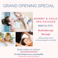 Itsy Bitsy Baby Spa's promotion image