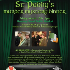 St. Paddy's Murder Mystery Diner Theater at Granary Road Market