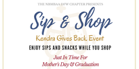 Sip & Shop: Kendra Gives Back Event
