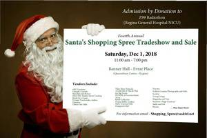 Santa's Shopping Spree and Trade Show and Sale