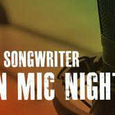 Singer Songwriter Open Mic Night