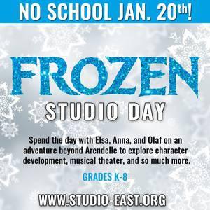 Studio Day: Frozen!