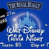 Disney Trivia Night with Hangman