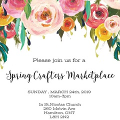 Spring Crafters Marketplace