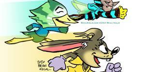 Kids Cartoon Club: Sonic Sketches