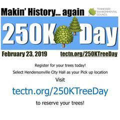 250K Tree Day 2019