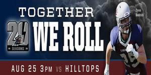 Regina Thunder VS Saskatoon Hilltops