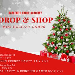Drop & Shop 'Reindeer Games & Pizza' Party (Ages 6-12)