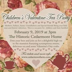 Children's Valentine Tea Party