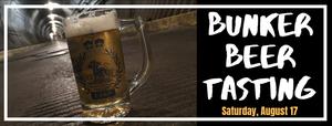 Bunker Beer Tasting